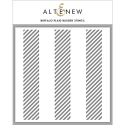 Buffalo Plaid, Altenew Stencils - 704831303414