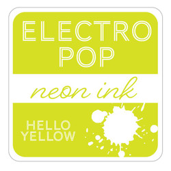 Hello Yellow ElectroPop Ink Pad, Gina K Designs Ink Pad - 609015541111