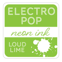 Loud Lime ElectroPop Ink Pad, Gina K Designs Ink Pad - 609015541128