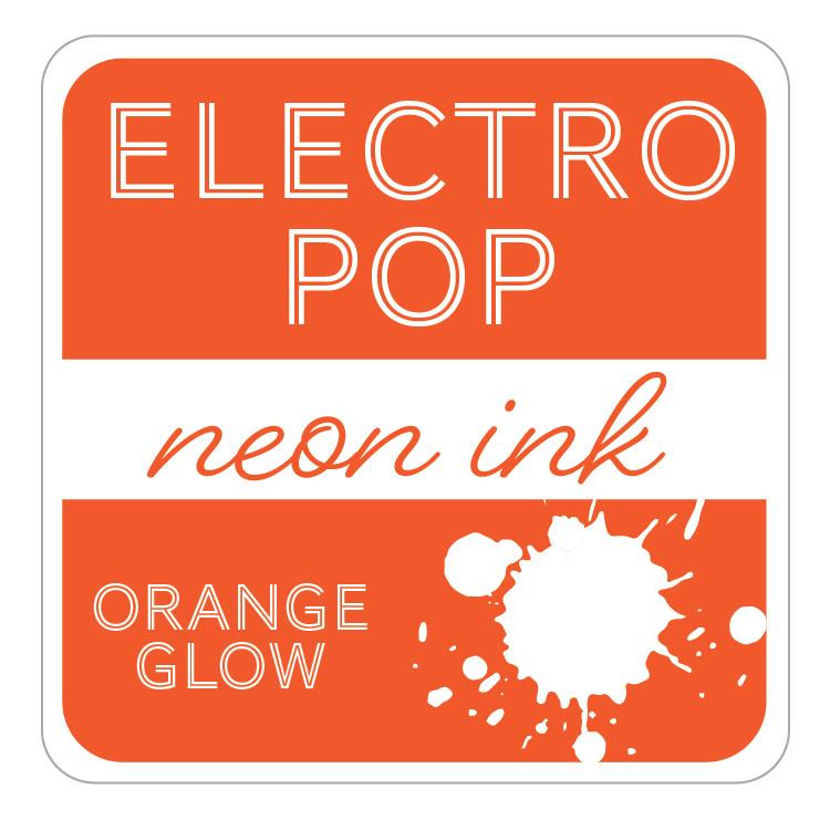 Orange Glow ElectroPop Ink Pad, Gina K Designs Ink Pad - 609015541104