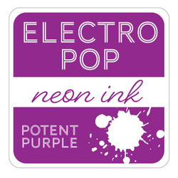 Potent Purple ElectroPop Ink Pad, Gina K Designs Ink Pad - 609015541159