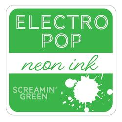 Screamin' Green ElectroPop Ink Pad, Gina K Designs Ink Pad - 609015541135