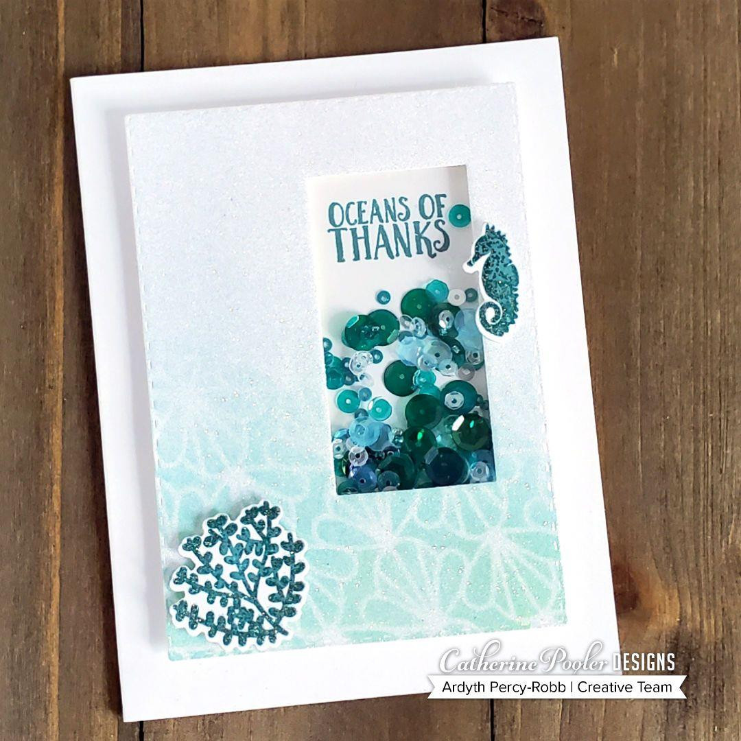 Shell Parade, Catherine Pooler Stencils - 819447022823