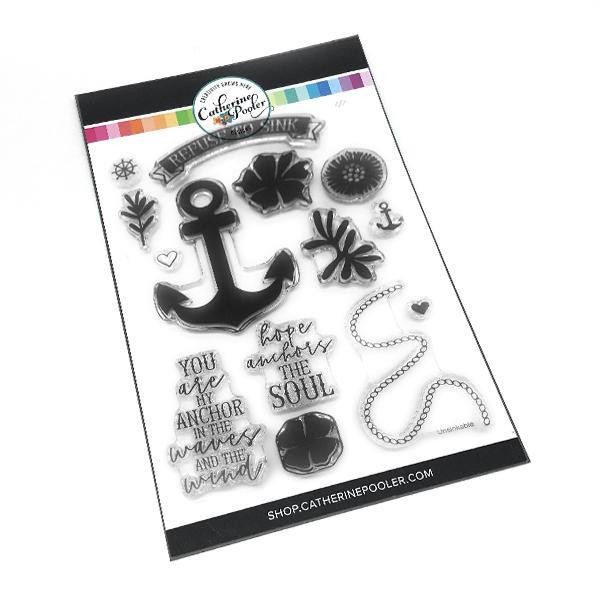 Refuse To Sink, Catherine Pooler Clear Stamps - 819447023608