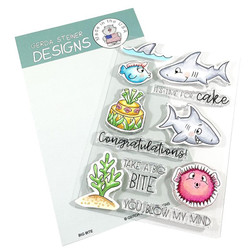 Big Bite, Gerda Steiner Designs Clear Stamps -