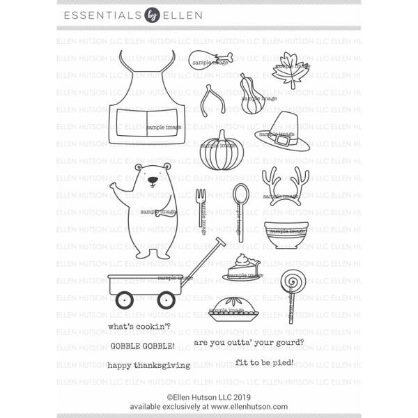 Bear Ware 4 by Julie Ebersole, Essentials By Ellen Clear Stamps -