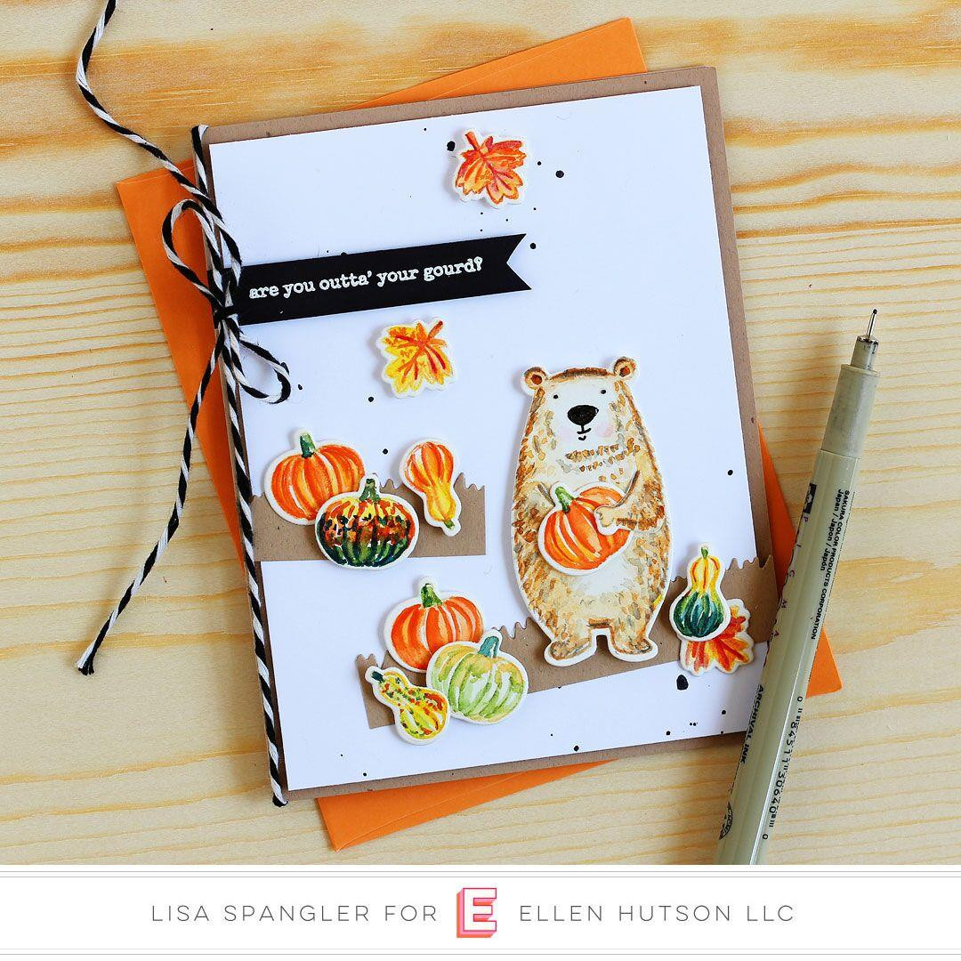 Bear Ware 4 by Julie Ebersole, Essentials By Ellen Clear Stamps -
