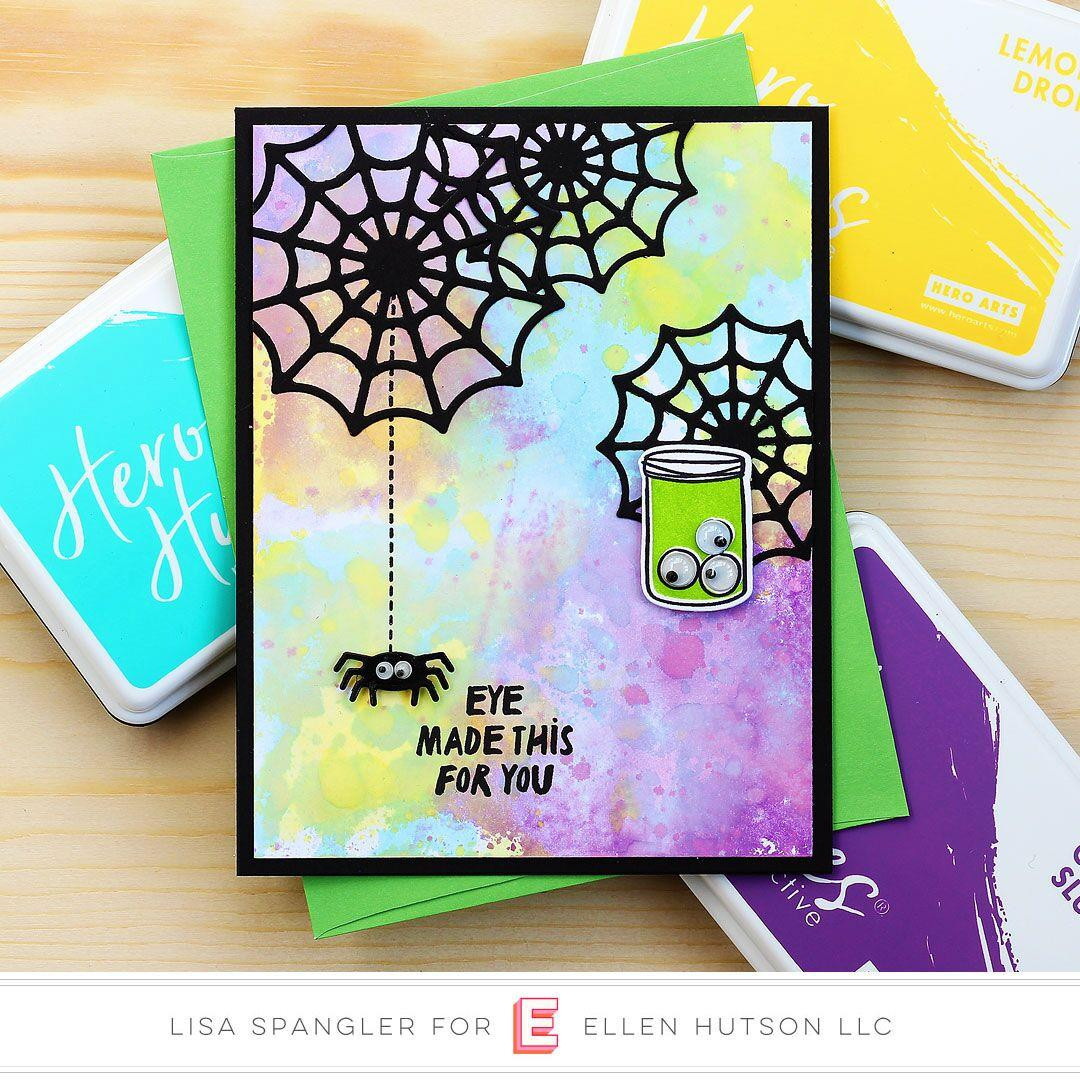 Happy Haunting by Julie Ebersole, Essentials By Ellen Clear Stamps -