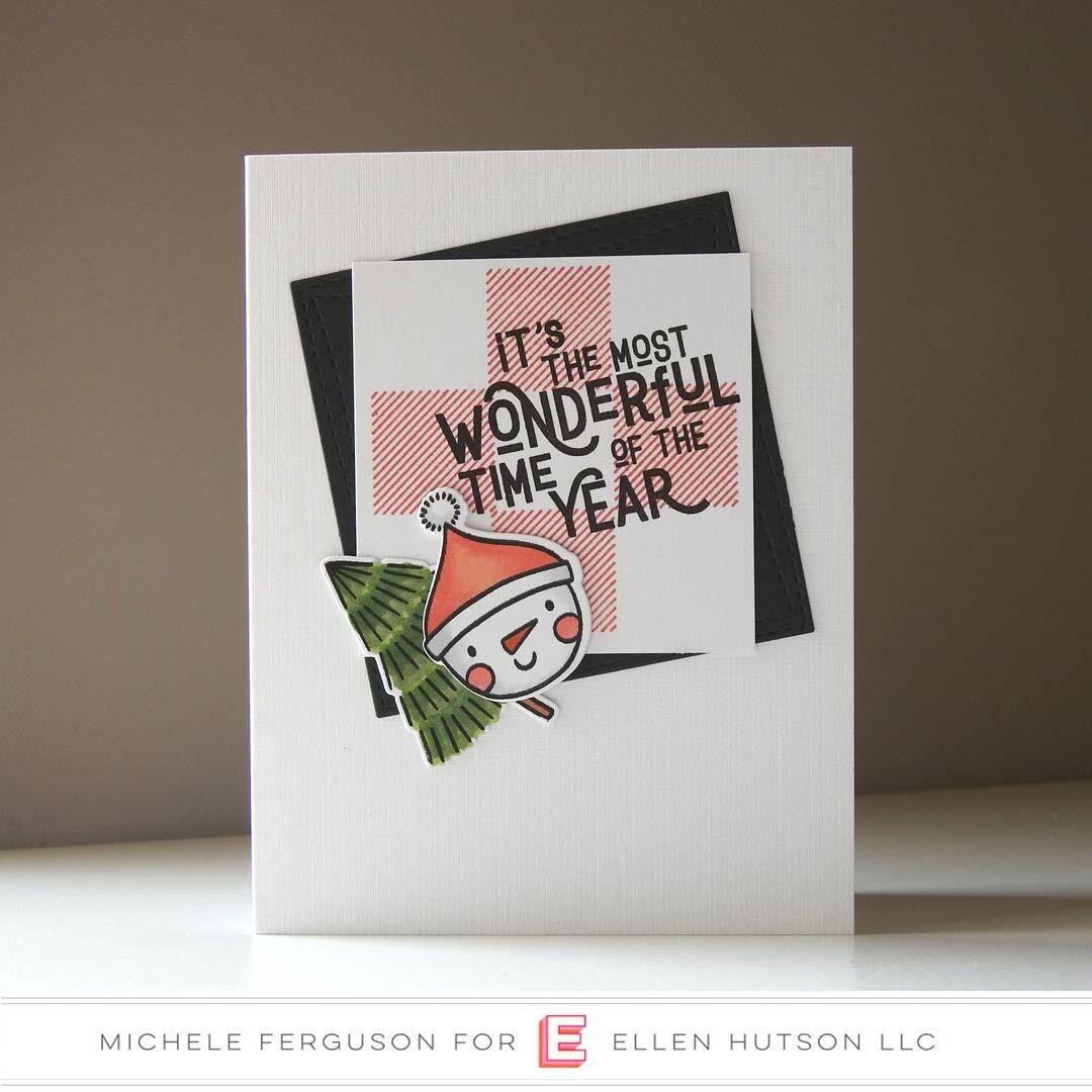 Holiday Characters by Julie Ebersole, Essentials By Ellen Clear Stamps -