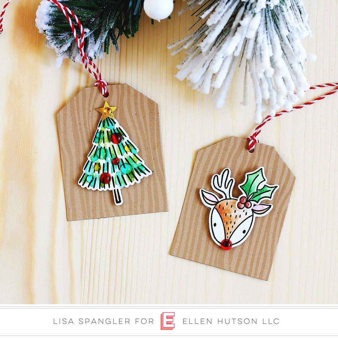 Rustic Woodgrain by Julie Ebersole, Essentials By Ellen Clear Stamps -