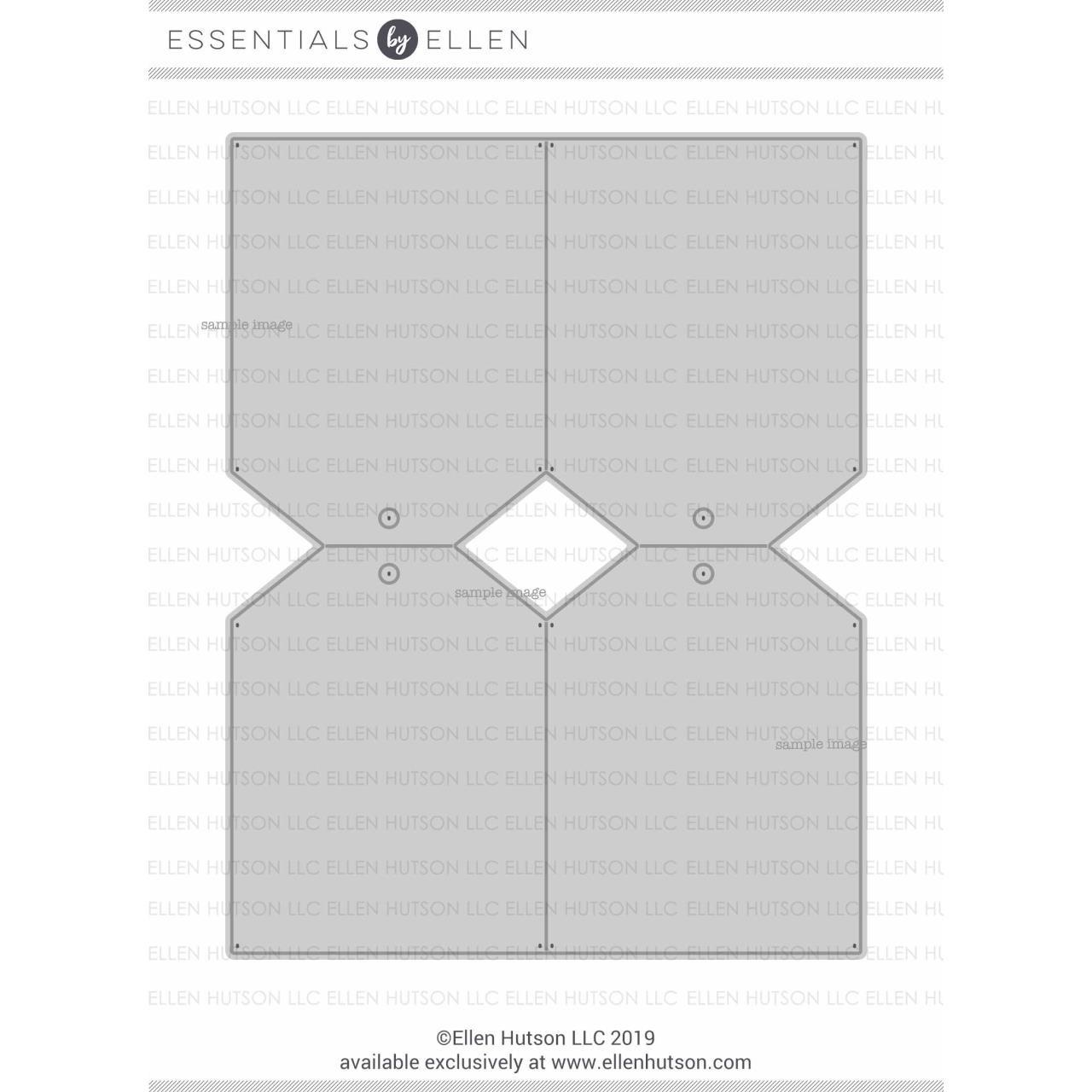 Shipping Tags by Julie Ebersole, Essentials By Ellen Designer Dies -