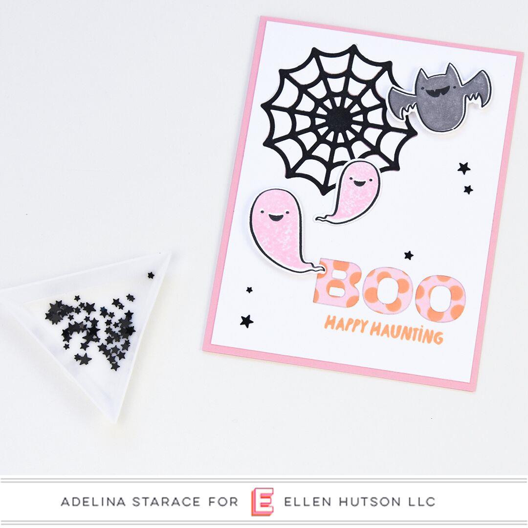 Happy Haunting by Julie Ebersole, Essentials By Ellen Designer Dies -