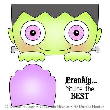 Frankly The Best, Darcie's Clear Stamps -