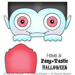 Fangtastic Halloween, Darcie's Clear Stamps -