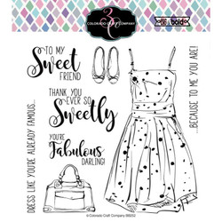 You're Fabulous, Colorado Craft Company Clear Stamps - 857287008546