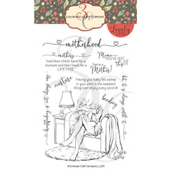 Motherhood, Colorado Craft Company Clear Stamps - 857287008577