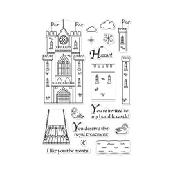 Build A Castle, Hero Arts Clear Stamps - 085700923842