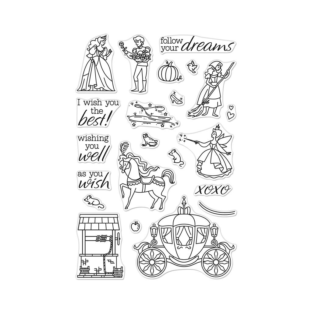 As You Wish, Hero Arts Clear Stamps - 085700923873