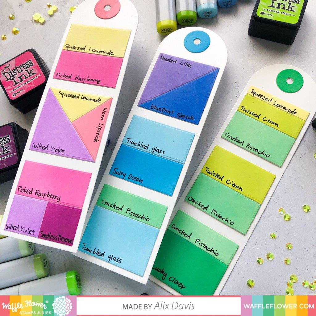 Color Combos Tag, Waffle Flower Dies - 644216560721