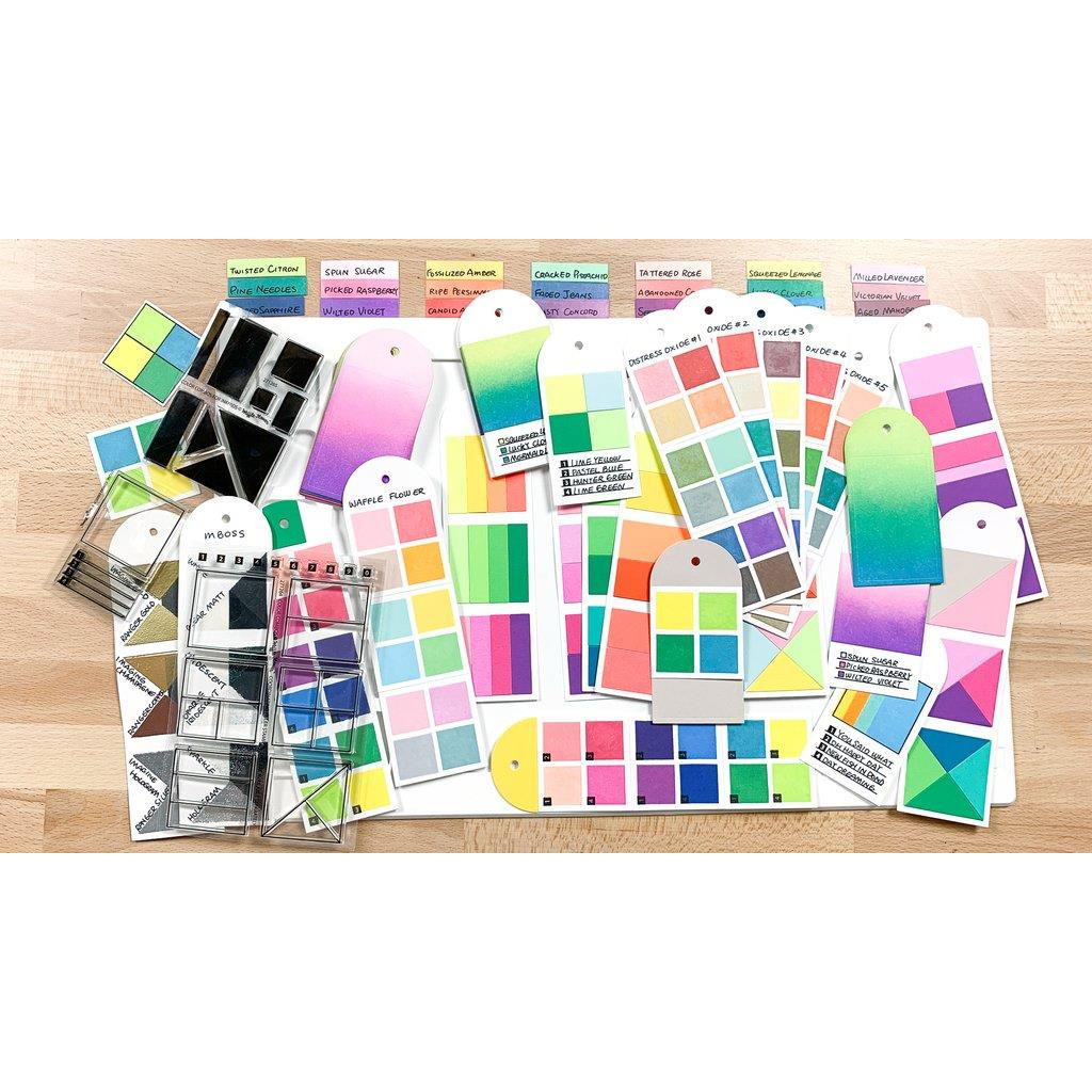 Color Combos For Inkpads, Waffle Flower Clear Stamps - 644216560127