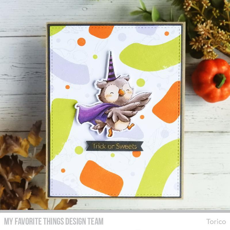 Abstract Doodle, My Favorite Things Clear Stamps - 849923031759