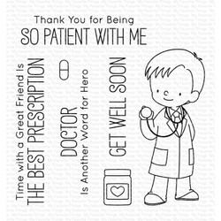 Bedside Manner By Birdie Brown, My Favorite Things Clear Stamps - 849923031728