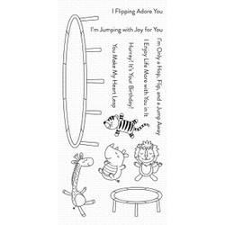 Hop, Flip, And A Jump, My Favorite Things Clear Stamps - 849923031773