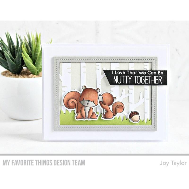 Squirrel! By Birdie Brown, My Favorite Things Clear Stamps - 849923031704