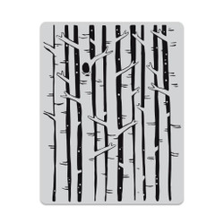 Birch Forest Background, Hero Arts Cling Stamps - 085700923019