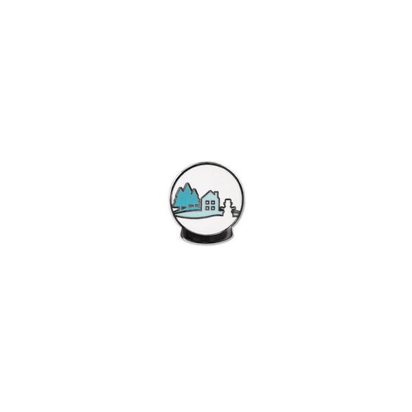 2019 Snow Globe, Hero Arts Enamel Pins - 085700923767