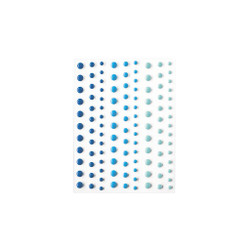 Blues Hero Hues, Hero Arts Enamel Dots - 085700923965