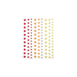 Sunset Hero Hues, Hero Arts Enamel Dots - 085700923989