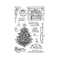From The Vault: Home Scene, Hero Arts Clear Stamps - 085700923323