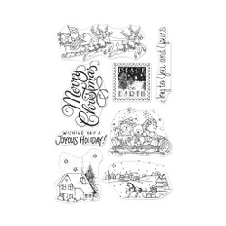 From The Vault: Winter Joy, Hero Arts Clear Stamps - 085700923408