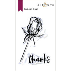 Inked Bud, Altenew Clear Stamps - 704831302974