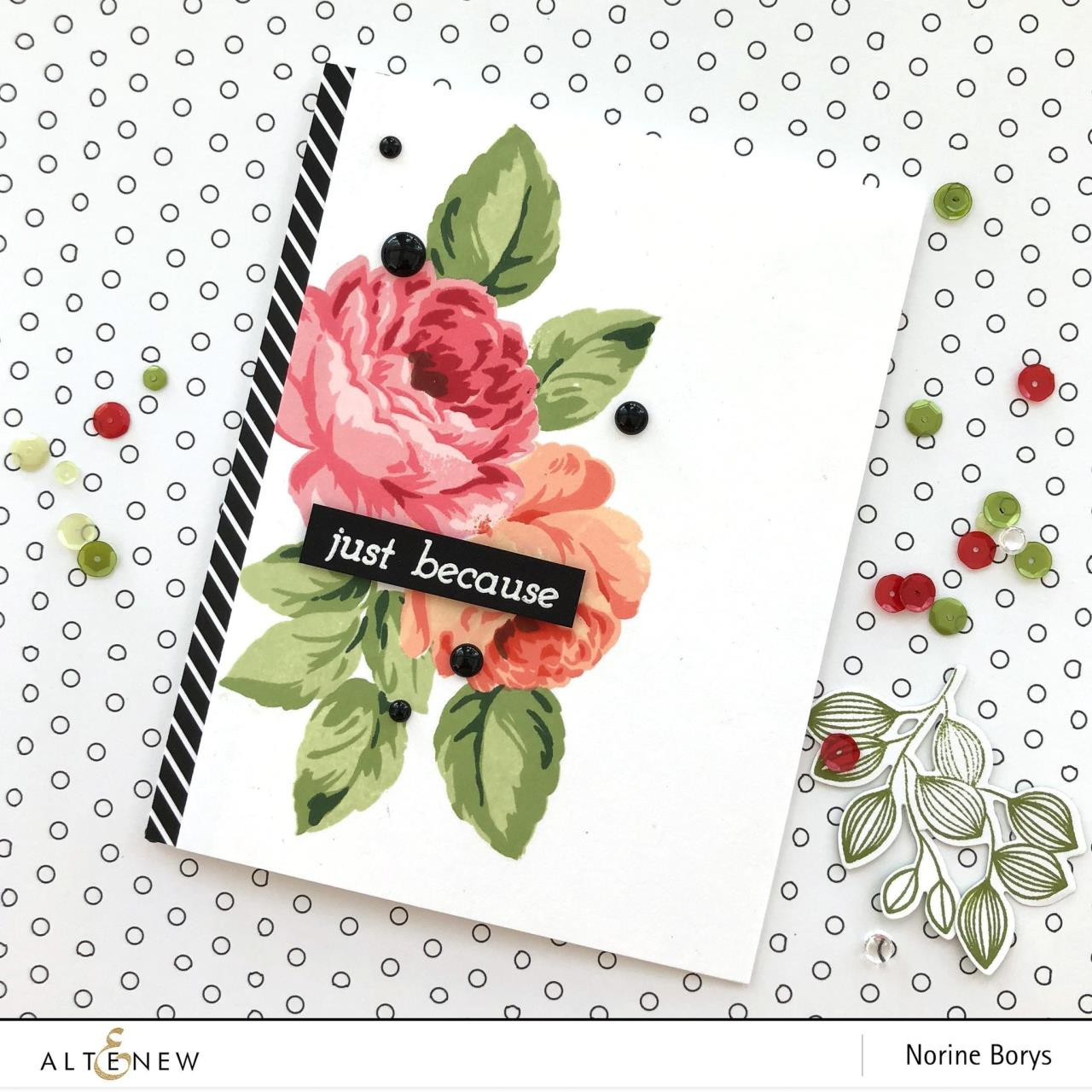 Just Because Builder, Altenew Clear Stamps - 704831302981