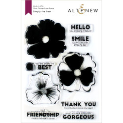Simply the Best, Altenew Clear Stamps - 704831303049