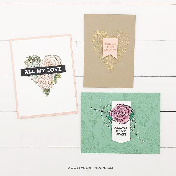 All My Love, Concord & 9th Clear Stamps - 902224004980