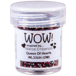 Queen Of Hearts, WOW Embossing Powder - 5056333100219