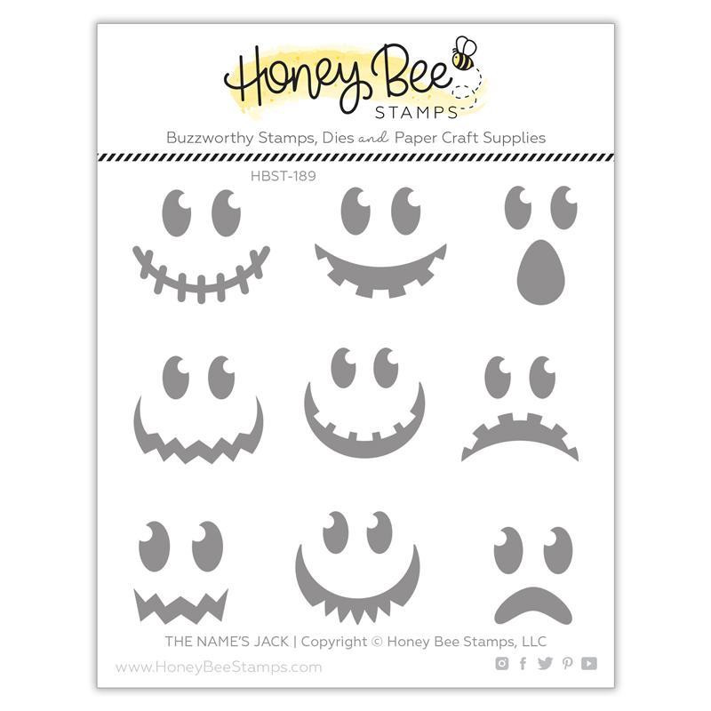 The Name's Jack, Honey Bee Clear Stamps - 652827605557