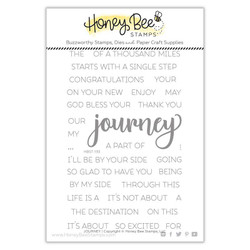 Journey, Honey Bee Clear Stamps - 652827605625