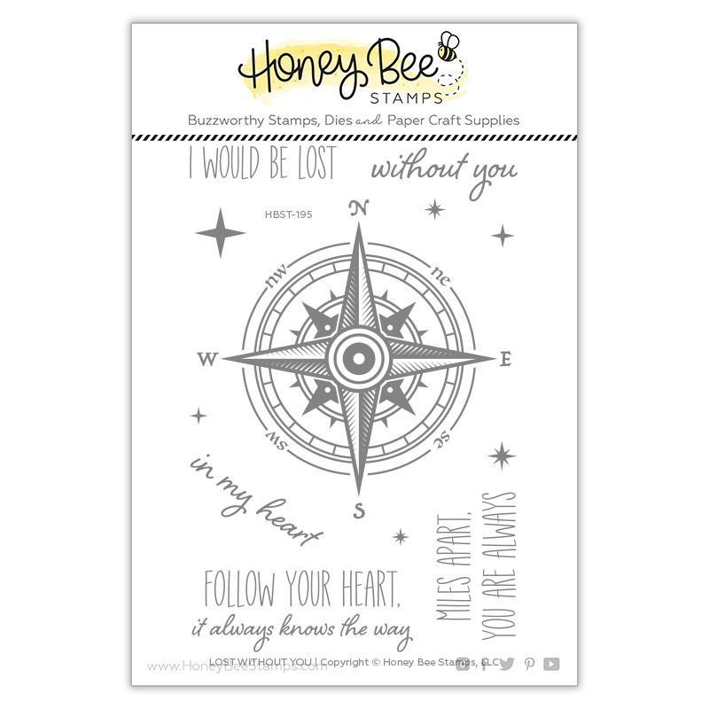 Lost Without You, Honey Bee Clear Stamps - 652827605724