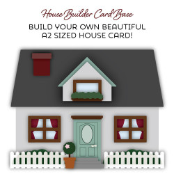 House Builder Card Base, Honey Cuts Dies - 652827605908