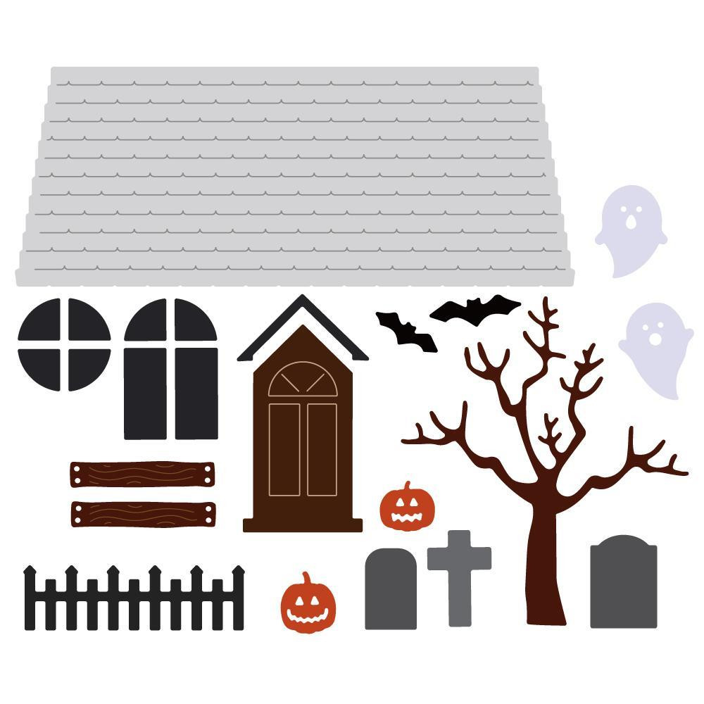 Haunted House Add-On, Honey Cuts Dies - 652827605915