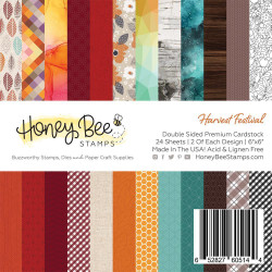 Harvest Festival, Honey Bee 6 X 6 Paper Pad - 652827605144