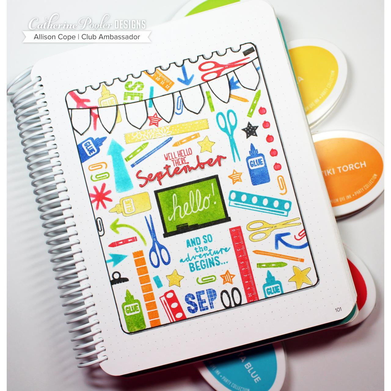 Hello There, September, Catherine Pooler Clear Stamps -    819447025091