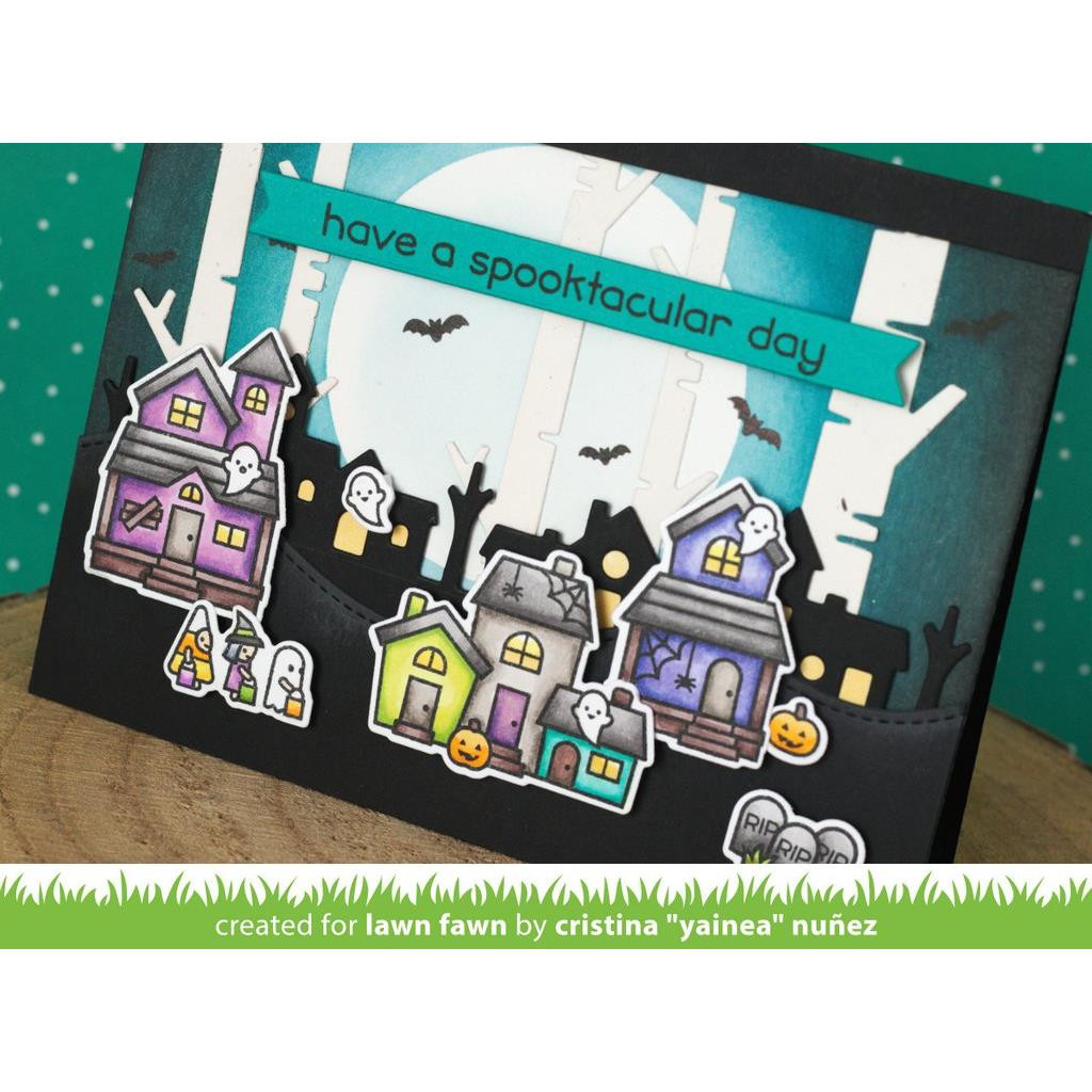 Spooky Village, Lawn Cuts Dies - 035292673144