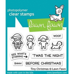 Tiny Christmas, Lawn Fawn Clear Stamps - 035292673229