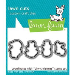Tiny Christmas, Lawn Cuts Dies - 035292673236