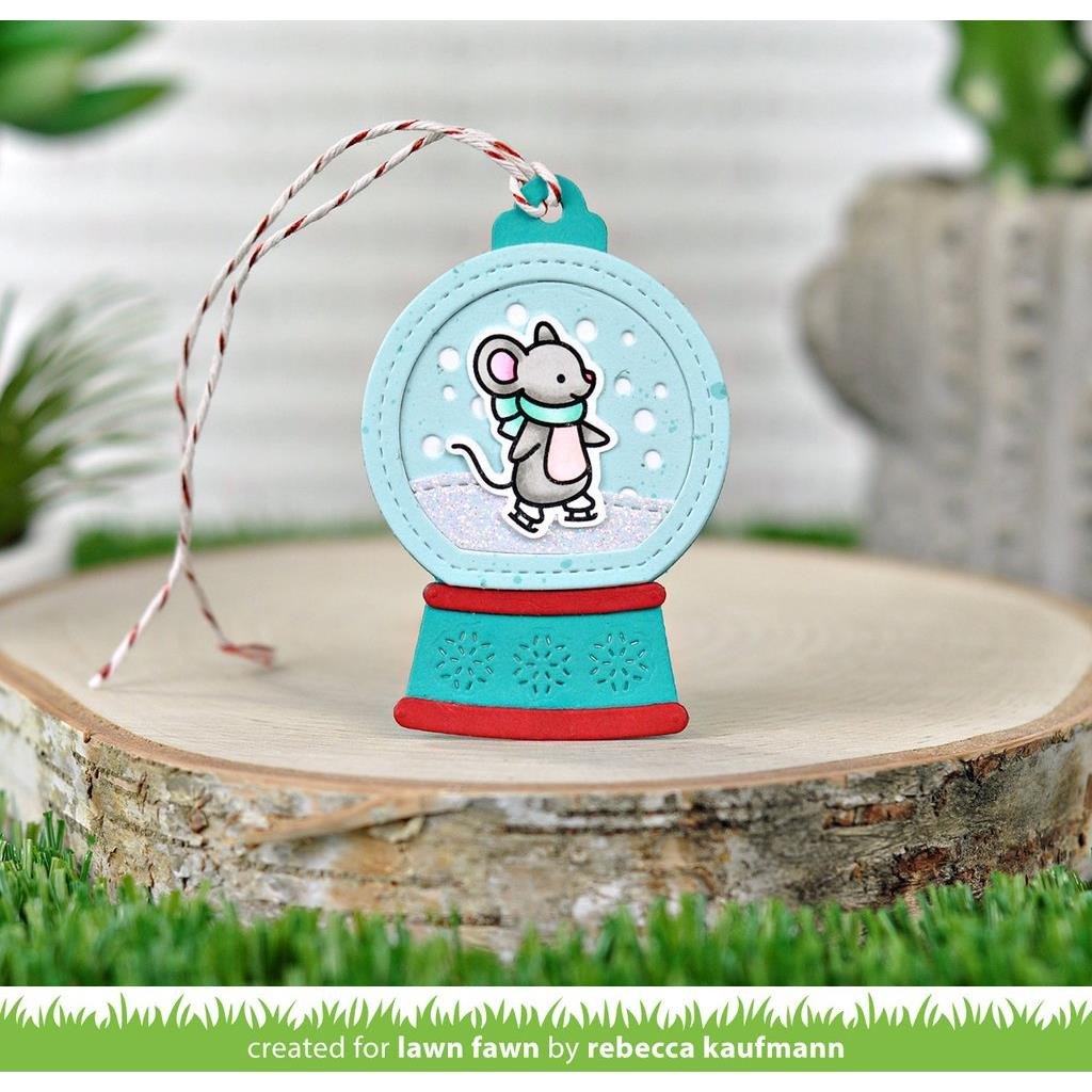 Mice On Ice, Lawn Fawn Clear Stamps - 035292673311